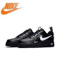 Original Authentic Nike Air Force 1 Men's Skateboarding Shoes Outdoor Sneakers Light Leisure Breathable Athletic Designer AJ7747