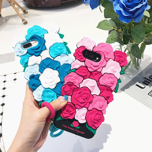 kate spade coque iphone 6 blue flowers