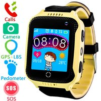 GPS Tracker Smart Watch Game Watch SOS Anti lost Alarm Remote Monitor with SIM Card Touch Screen Birthday Gifts for Boys Girls