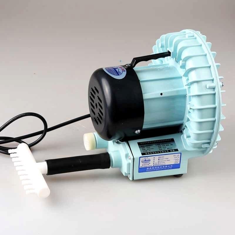 90W SUNSUN HG 090 High Pressure Electric Turbo Air Blower Aquarium Seafood Air Compressor Koi Pond Air Aerator Pump 10 Outlets