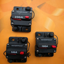 цена на 30A 40A 50A 60A 70A 80A 100A 120A 135A 150A 200A Manual Reset Circuit Breaker Protector Overcurrent Protect Car Boat Accessories