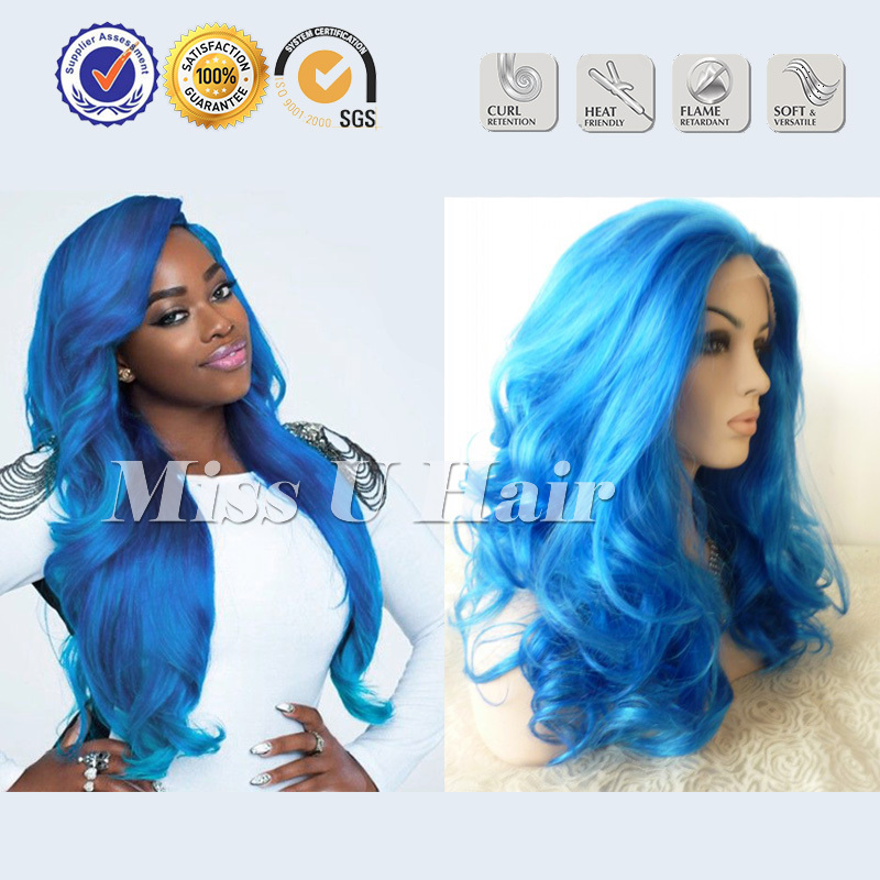 Party City Wigs Blue