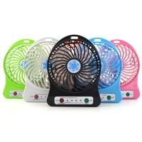 5 Sets 2017 Portable Cooler Cooling Small Mini Usb Fan LED Lights Gadgets Fans Powerbank Computer