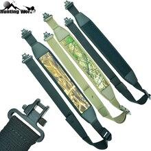 """مسدس بندقية بندقية تكتيكي قابل للتعديل مع 1.25 """"حزام كتف للبندقية يدور بحزام للصيد Airsoft"""