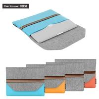 Cartinoe Kimmi Series 11 6 12 13 3 15 4 Inch Universal Laptop Envelope Leather Sleeve