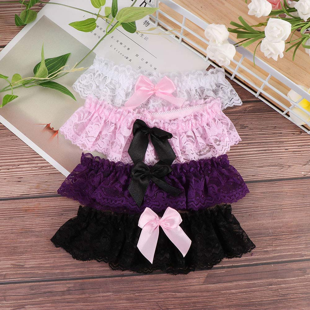 Suspender Lingerie Garter-Belt Lace Cosplay Wedding-Party Bridal Girls Sexy-Style Fashion