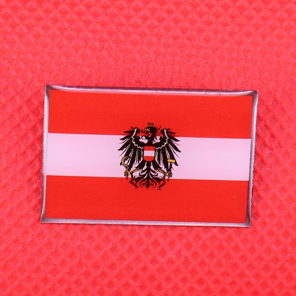 Austria flag pin German empire eagle shield brooch Austrian national emblem badge men shirt accessories jewelry patriotic gift
