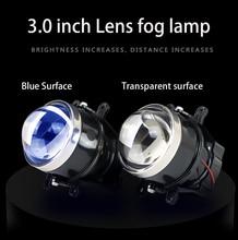Lente de nevoeiro conjunto da lâmpada super brilhante luz de nevoeiro led xenon h11 para mitsubishi outlander l200 pajero grandis galant 2003 2015