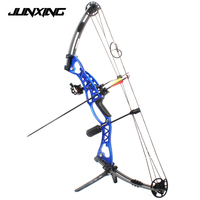 Hunting Archery Compound Bow 40 60lbs Aluminum Alloy Slingshot Bow With Peep Sight For Adult Hunter