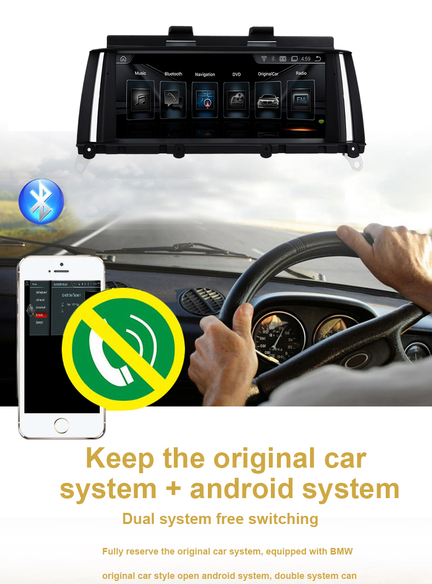 10 Koason Top Selling Android Car Stereo Audio for BMW X3 F25 NBT