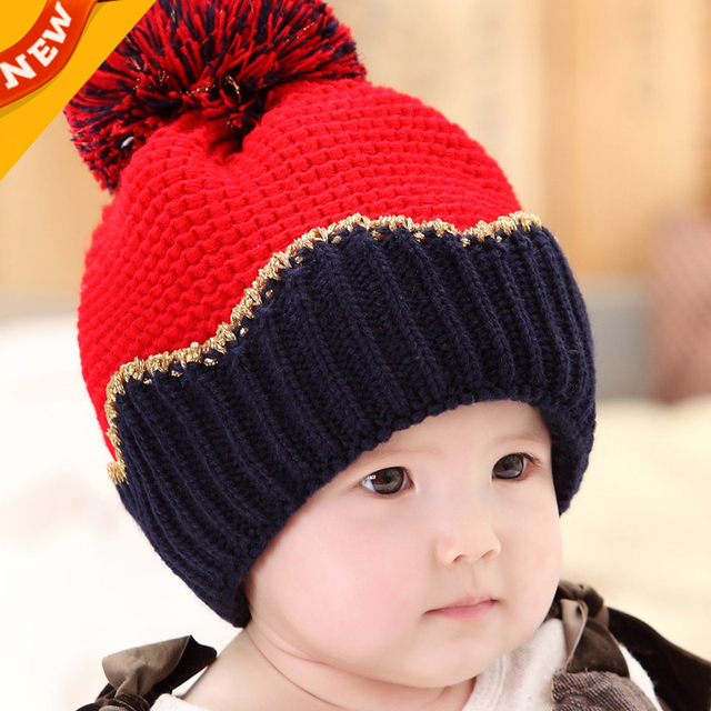 775f3297c9ad New Arrival Baby Bomber Hats Crochet Knitted Baby Cap Kids Photo ...