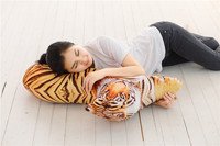 large 60cm 3D dimensional Dalmatian plush toy printing design soft dog doll throw pillow birthday gift s2571