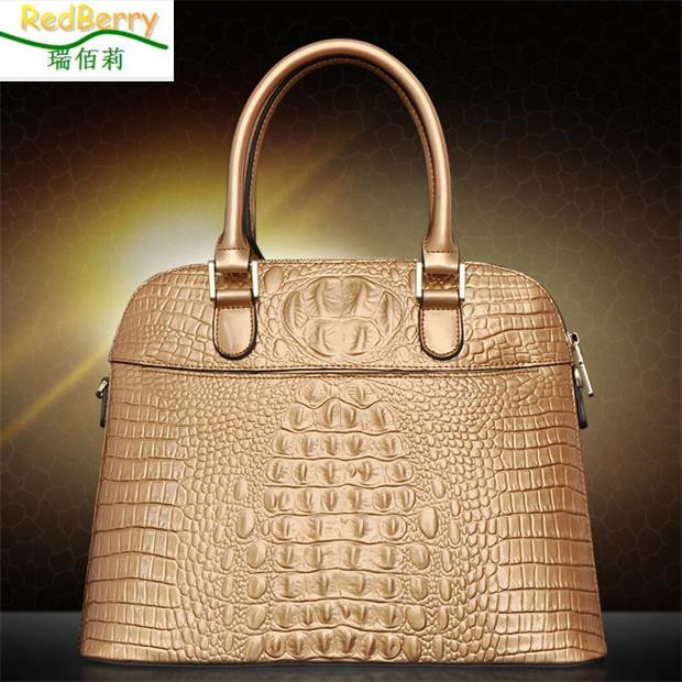 Hot Sale Genuine Leather Bag Fashion Luxury Women Handag Messenger Bags Vintage Crossbody Tote Bolsas Femininas Top Quality hot sale 2016 women leather bag women s handbag crocodile pattern crossbody bag for women pendant lady bags tote bolsas qt2020