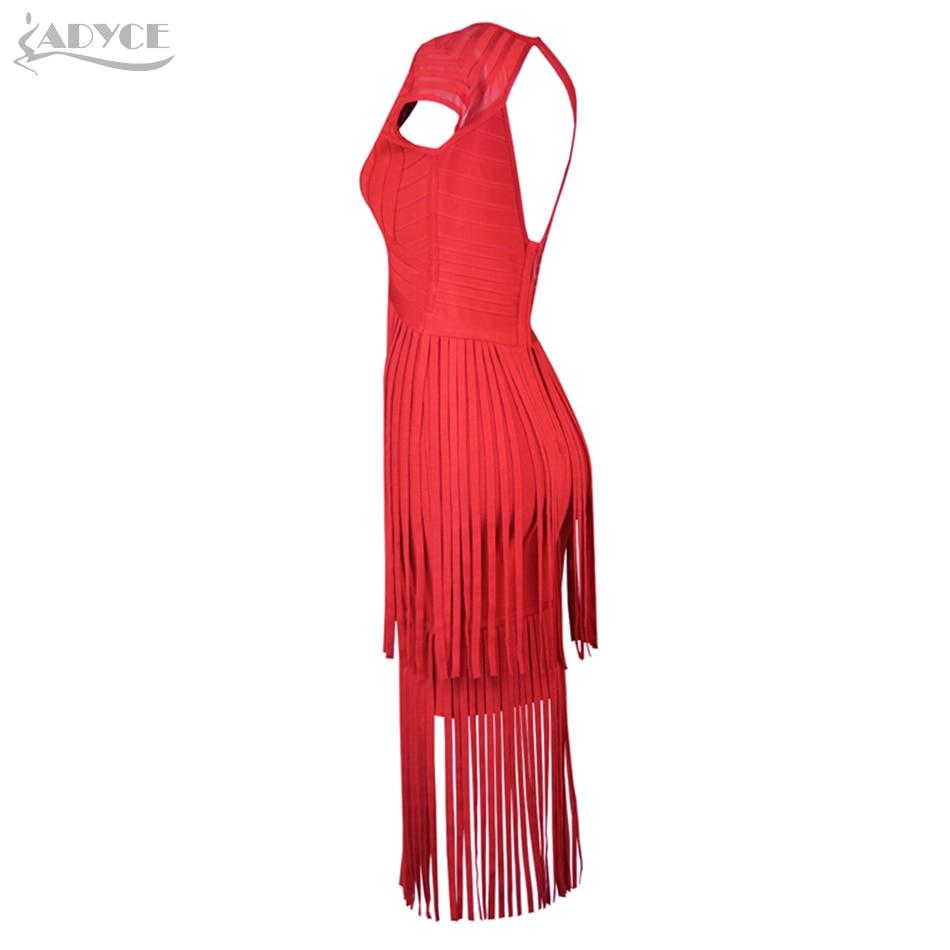 Women Tassel New Red