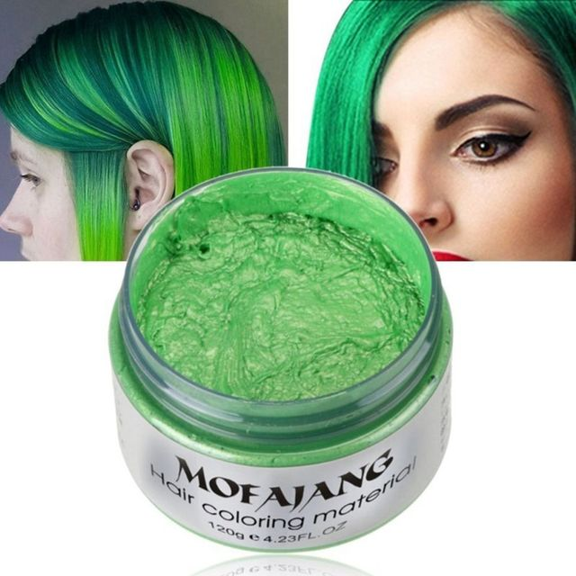 US $8.73 9% OFF|1PC 120 ML Temporary Hair Color Dye Cream Disposable DIY  Hair Coloring Products Colored Wax Mud Hair Styling Tools 5 Colors-in Hair  ...