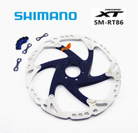 SHIMANO XT RT86 6/7 Inch160mm 180mm 203mm MTB BIke ice point Technology Disc Brake 6 Bolts Rotor accessory bicycle parts SM RT86