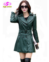 Women Leather Jacket Faux Leather Turn Down Collar Solid Brand Com New 2015 New Jaqueta Couro