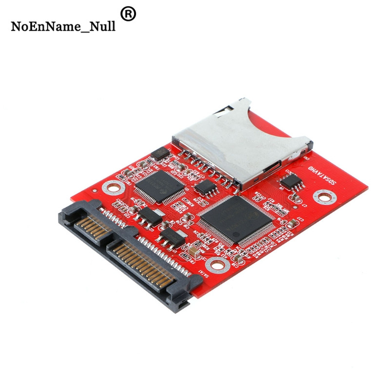 Memory Card Adapters Digital MMC SD SDHC Secure To SATA Converter Adapter For Windows Linux Mac OS Dropshipping