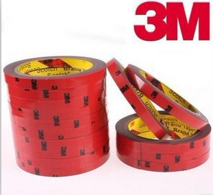 3M Tape 20mm X 3Meter Double Sided Sticker Acrylic Foam Adhesive  Car Interior Tape