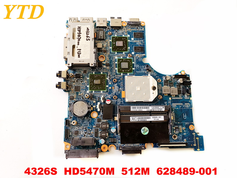 Original for HP 4326S  laptop motherboard 4326S  HD5470M  512M  628489-001 tested good free shipping