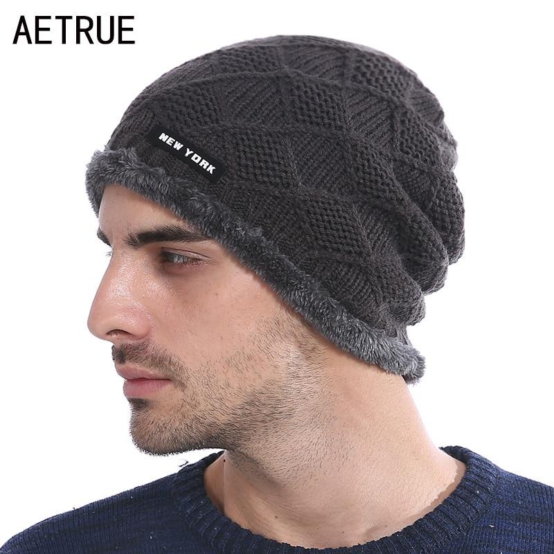 Brand   Beanie   Knit Hat Winter Hats For Men Women Winter   Skullies     Beanies   Men Caps Cheap Gorras Bonnet Warm Baggy Casual Cap Hat