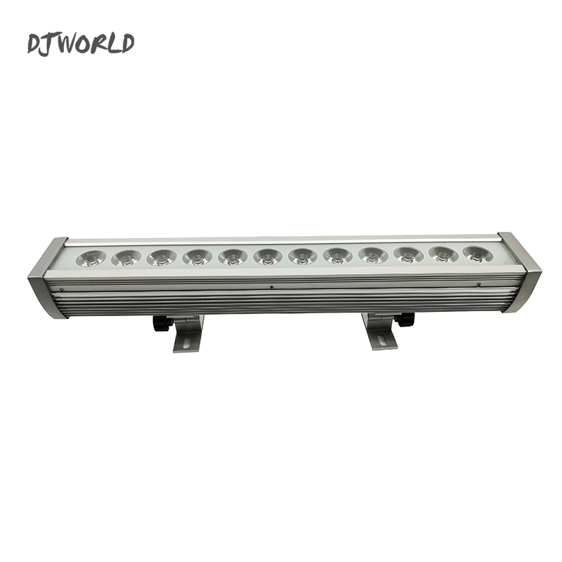 Wash Wall LED Light Waterproof 12x12W RGBW 4in1 Stage Effect Light For Outdoor Atmosphere Of Disco DJ Music Party Club TV Studio