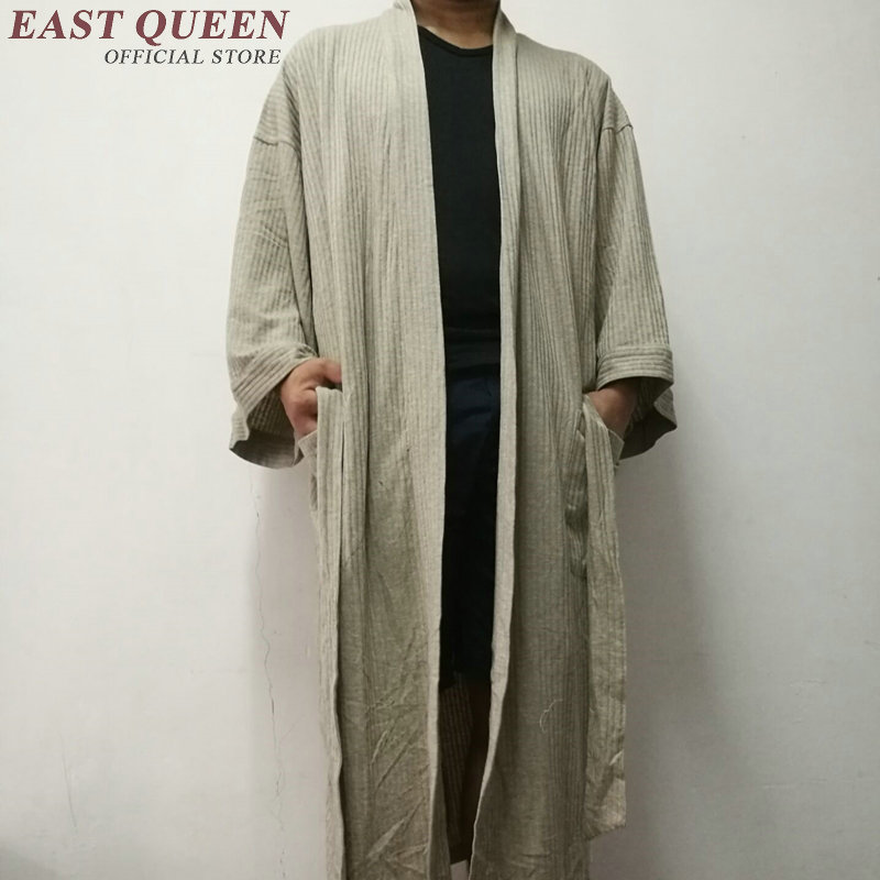 Robe Male Sleepwear Men Bathrobe Sleepwear Men Robe Kimono Male CC005