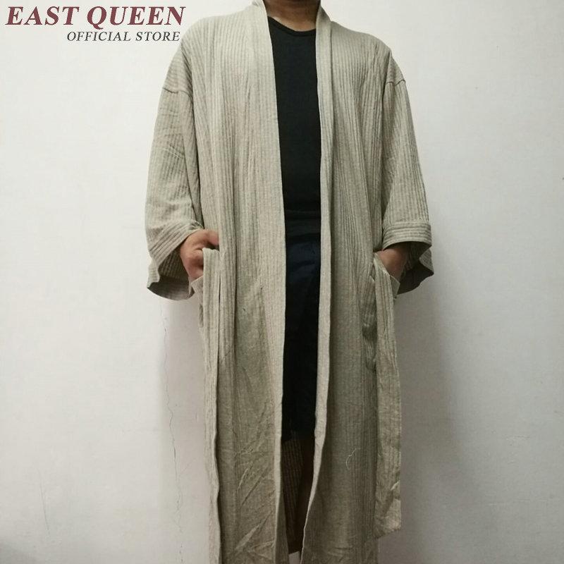 Robe Male Sleepwear Men Bathrobe Sleepwear Men Robe Kimono Male CC005