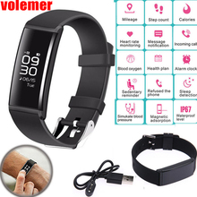 X9 Smart Wristband Fitness Bracelet Heart Rate Monitor Band Blood Pressure Pedometer Waterproof Bracelet for Android IOS Watch