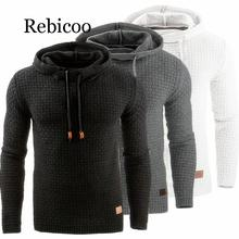 Sweater Men Autumn Winter Warm Knitted Men's Sweater Casual Hooded Pullover Men Cotton Sweatercoat Pull Homme autumn winter men s slim cotton blend velvet hooded sweater gray l