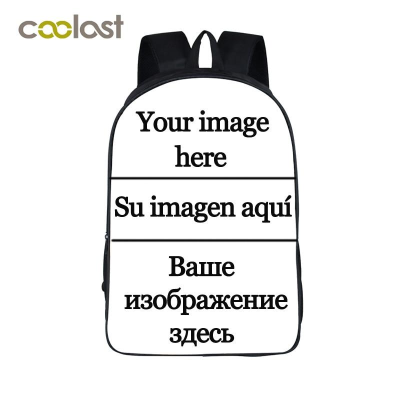 Personalizar la mochila de imagen para adolescentes niñas niños bolsas escolares labios rojos grandes mochila mujer 2018 Punk mujeres Skull Bagpack