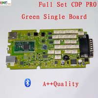 3pcs Best Quality Green Single Board CDP Pro 2015 R1 Newest Support More Cars OBD2 Diagnostic