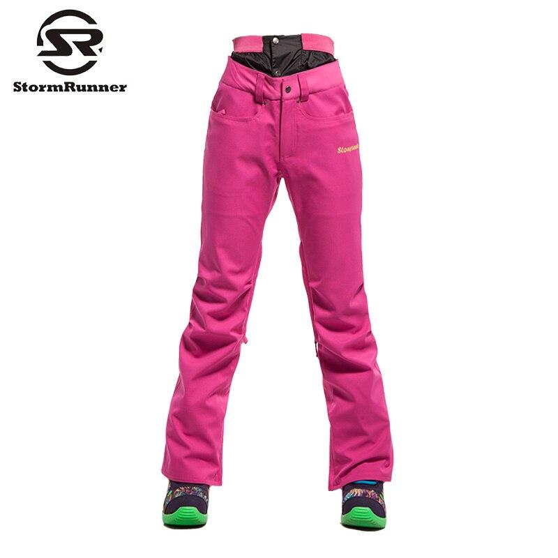 Livraison gratuite femmes Ski pantalon Camouflage Ski pantalon femme Snowboard pantalon imperméable 10 K hiver extérieur neige Skiwear - 5