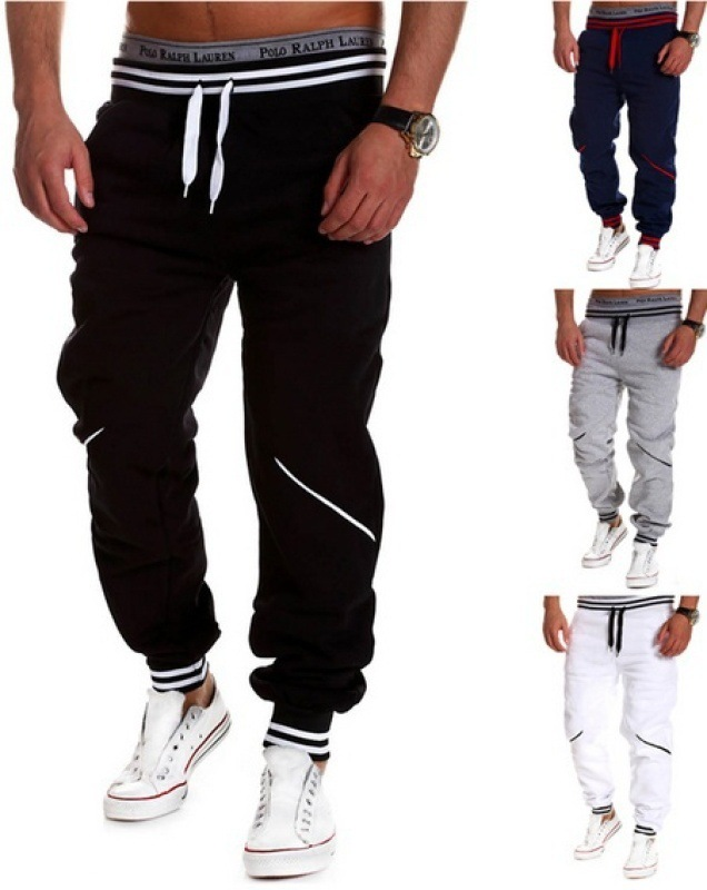 2019 Vomint Mens Joggers Casual Pants Fitness Men Sportswear Tracksuit Bottoms Skinny Sweatpants Trousers