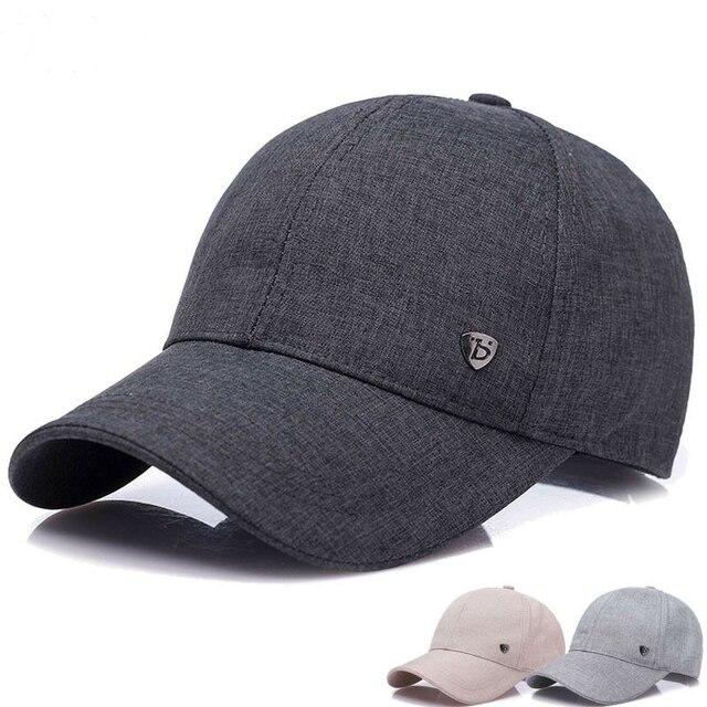 965b8d7dbae 2018 Fashion men Women Baseball Cap Summer Spring Cotton Caps Women Solid  Adult Baseball Cap Black White Hat Snapback D