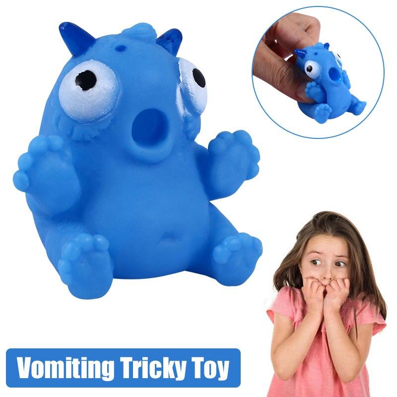 Мода рвота животное мягкий пластик ленивый червь игрушка для розыгрыша для игрушка для розыгрыша s Прямая