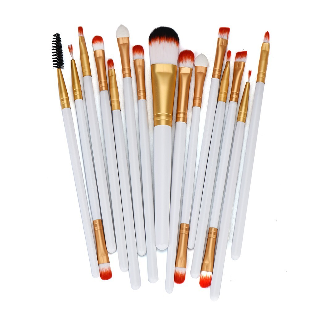 15pcs makeup brushes set professional makeup hair brush