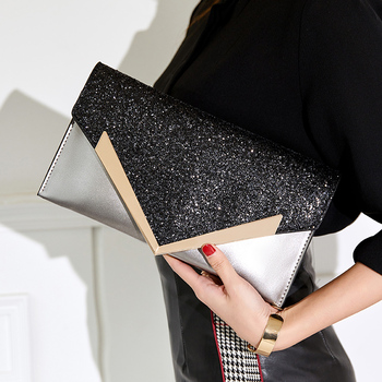 Fashion Envelope Clutch Bag Women Leather Birthday Party Evening Clutch Bags For Women Ladies Luxury Shoulder Clutch Bag Purse new fashion sequined envelope clutch women s evening bags bling day clutches pink wedding purse female handbag 2019 banquet bag