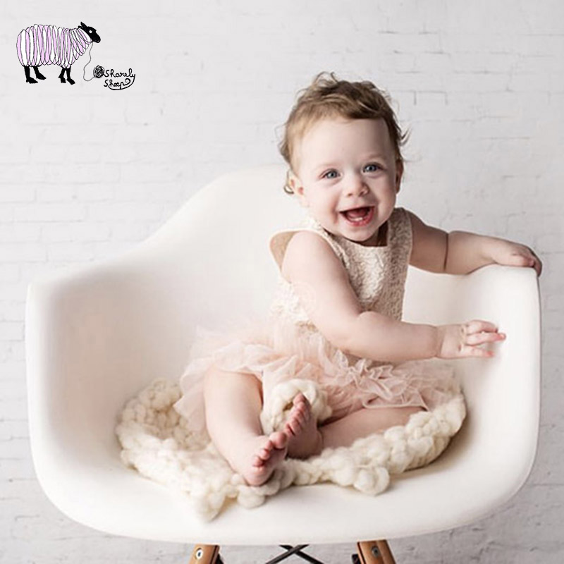 Newborn Baby Boy Photography Chair Basket Props Toddler Kids Photo Shoot Posing Props Infant bebe fotografia Chair Bed Accessory
