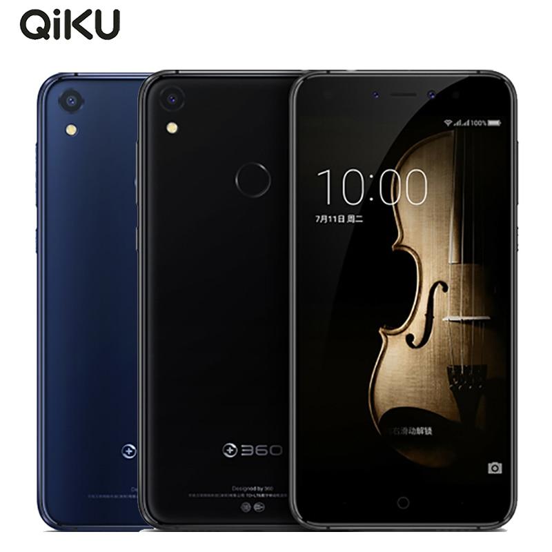 Original Qiku 360 N5s Cell Phone 5.5 inch 6GB RAM 32GB ROM Snapdragon 653 Octa Core Dual Front Camera 3730 mAh 4G LTE Smartphone