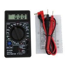 DT830B AC/DC Ammeter Voltmeter Ohm LCD Digital Voltmeter Ohmmeter Ammeter Multimeter Handheld Tester AC DC DT-830B home tester