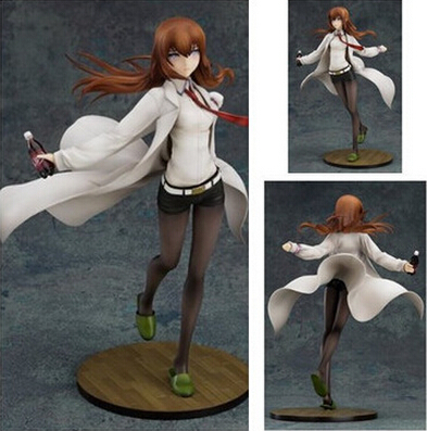 NEW hot 24cm Steins Gate Makise Kurisu Action figure toys collection Christmas gift new hot 16cm natsume yuujinchou cat nyanko sensei action figure toys collection christmas gift