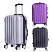 2024 Carry on Suitcase with Wheels Unisex Pink Luggage Travel Bag Trolley Bags Children's Suitcases