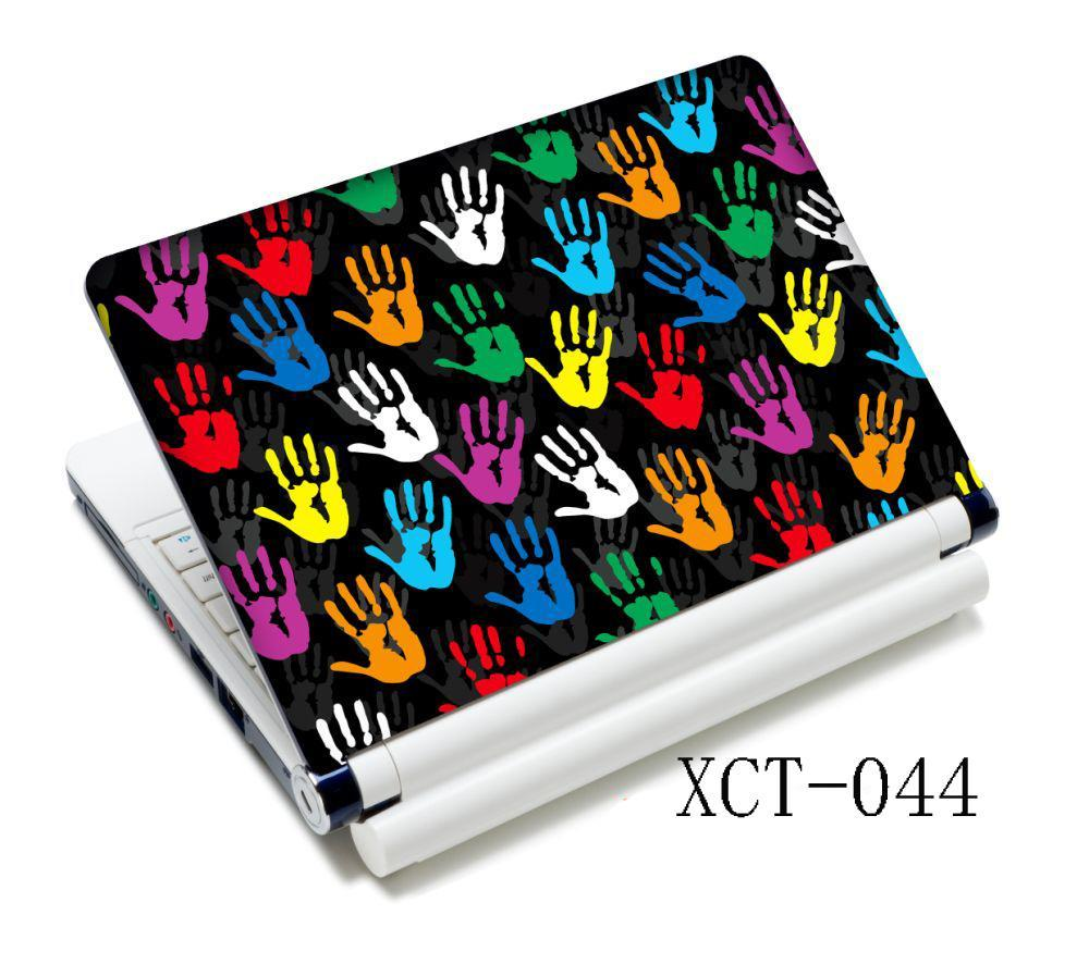 Colorful Hands New <font><b>15.6</b></font> Inches Universal <font><b>Laptop</b></font> <font><b>Skin</b></font> Cover Sticker Decal For HP Acer Dell <font><b>ASUS</b></font> image