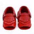 Высокое качество Натуральной Кожи Детские Мокасины кисточкой Детская Обувь Bebe новорожденные мальчики девочки обувь мягкое дно Первые Ходунки