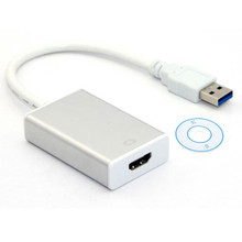 USB 3.0 to HDMI Converter USB3.0 to HDMI Cable Multi Display Graphic Adapter for PC Laptop Projector HDTV LCD HD 1080P