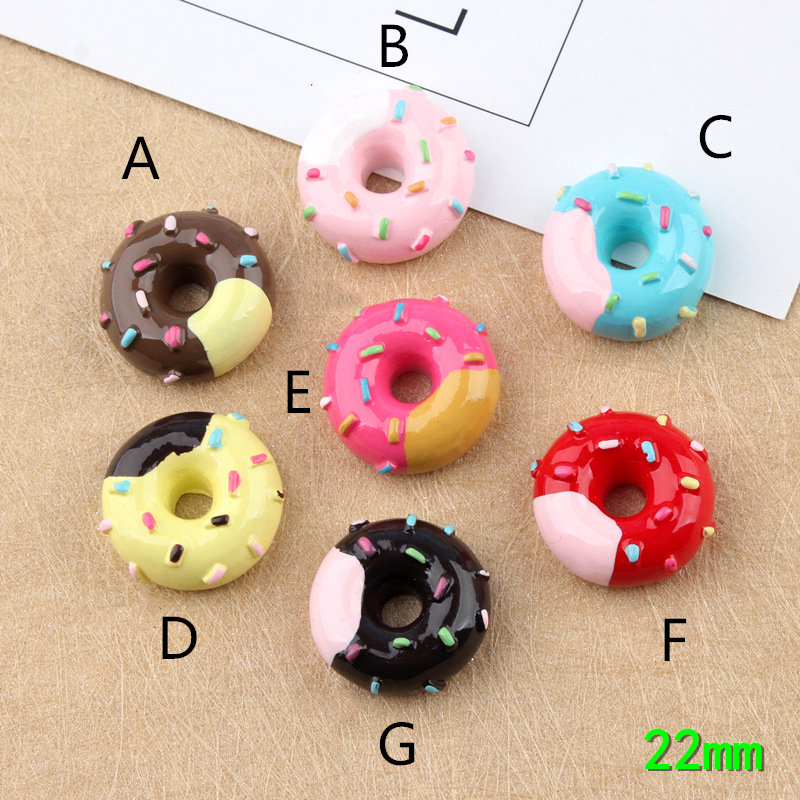 8pcs Soft Artificial Fake Bread Donuts Doughnuts Simulation Model Home Decoration Craft Toy Kitchen Pretend Toys For Children