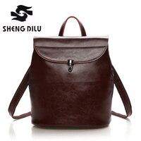 2016 New Handbag Leather Handbag Leather Leather Ladies Backpack