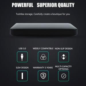 Image 3 - Toshiba Hard Disk Portable 1TB 2TB Free shipping Laptops External Hard Drive 1 TB Disque dur hd Externo USB3.0 HDD 2.5 Harddisk
