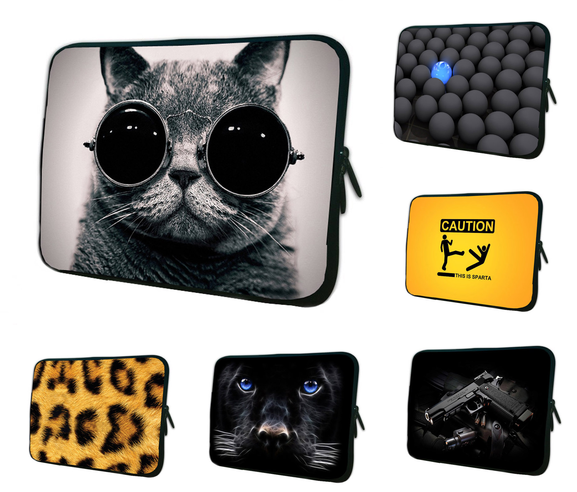 Hot Laptop Liner Bags Cases For Asus Transformer Pad TF300 TF300T 10.1 Universal 10 Tablet 10.1 9.7 Netbook Neoprene Inner Bag